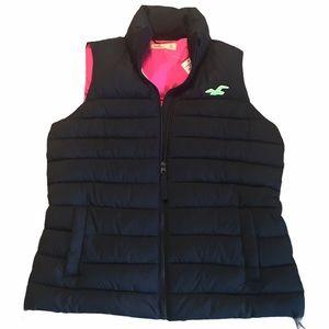 🌸NWT HOLLISTER Ladies Puffer Vest - sz Medium